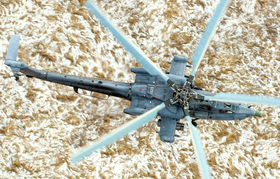 Гром с небес: вертолётная атака — вид из кабины «Ночного Охотника»