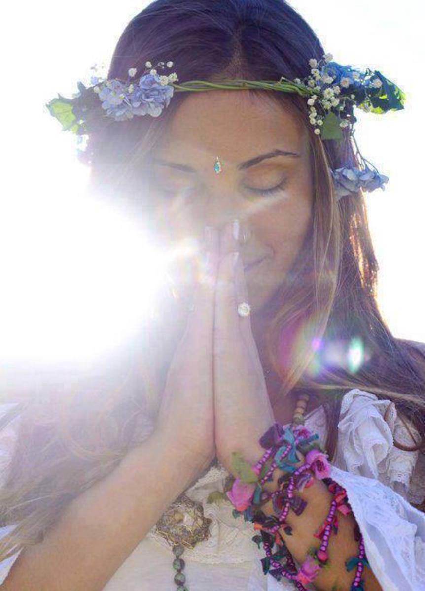 Волшебная молитва о любви к себе, обращенная к Богине.