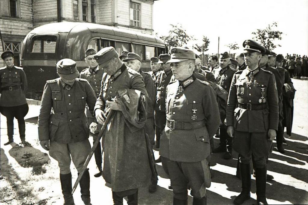 Парад унылых Немцев. Как это было