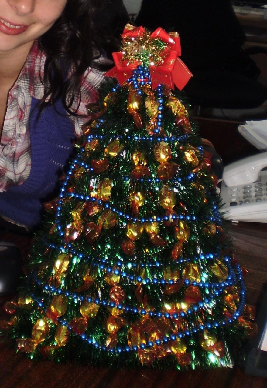 Новогодняя елочка своими рук…
