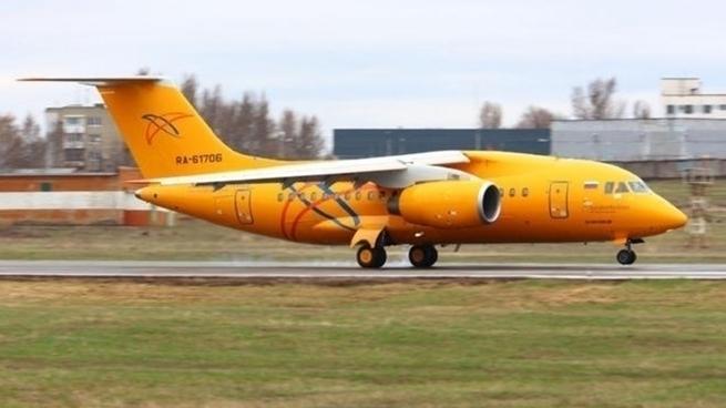 Пассажирский Ан-148 вынужденно сел в Саратове после столкновения со стаей птиц
