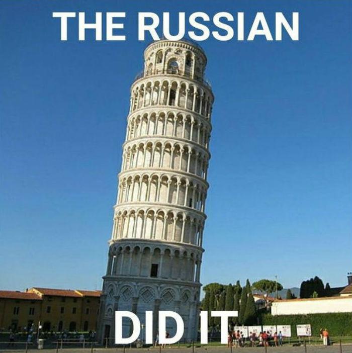 Это сделали русские: ироничный флешмоб покоряет всемирную сеть (фото)