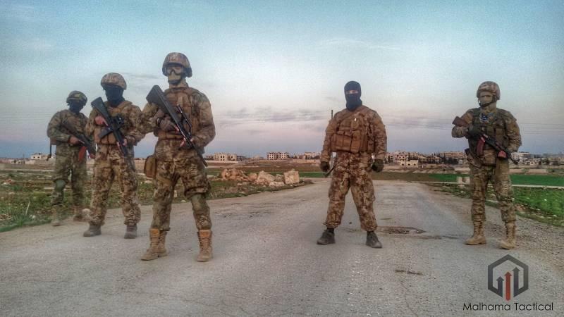 Компания Malhama Tactical – первая в мире исламская ЧВК