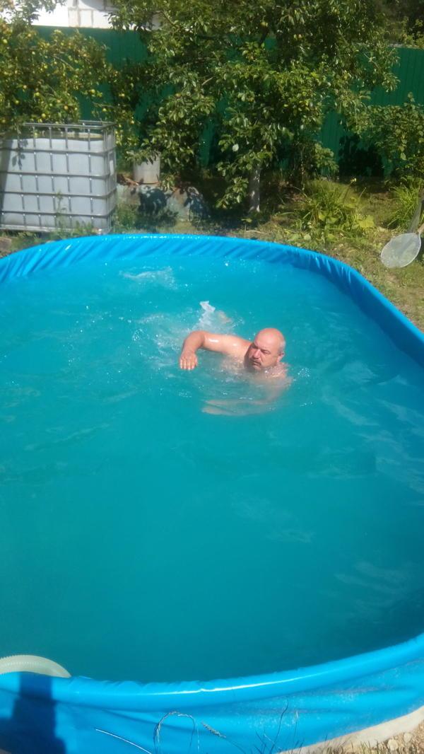 Изюминка моего сада — бассейн