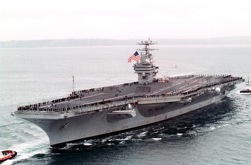 КНДР угрожают потопить авианосец Carl Vinson «одним ударом»