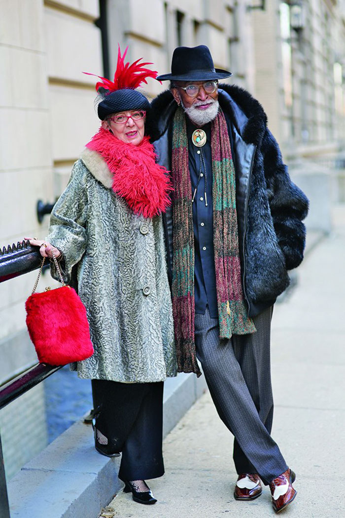 NewPix.ru - Возраст просто число. Стильные Пенсионеры. Модные пожилые люди за 60