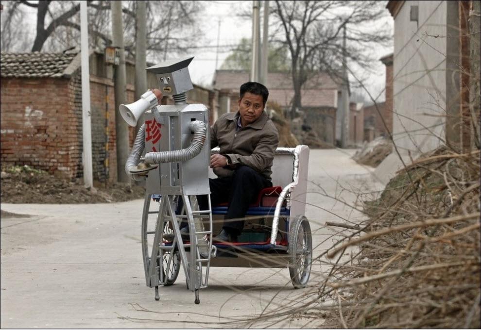 398 47 роботов китайского изобретателя