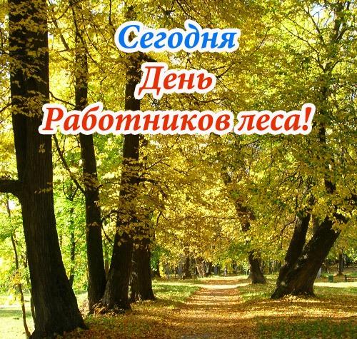 18 сентября - ДЕНЬ РАБОТНИКОВ ЛЕСА