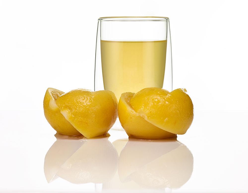 Соленый лимон