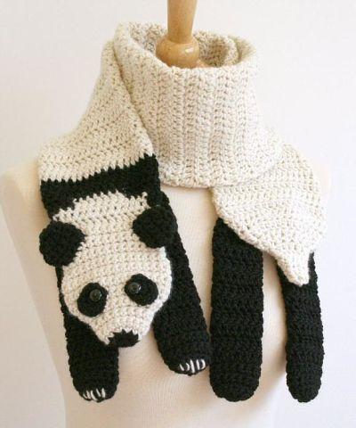 А Вам нравятся оригинальные шарфики?