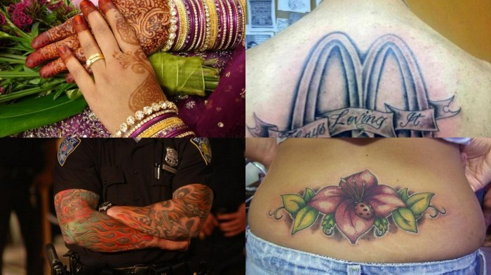 10 интересных фактов о татуировках