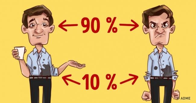 Простой принцип 90/10, который влияет на всю нашу жизнь