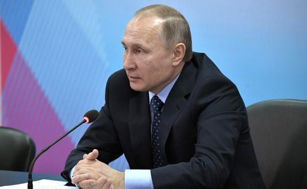 Путин: ВРоссии никогда небудет государственной системы поддержки допинга