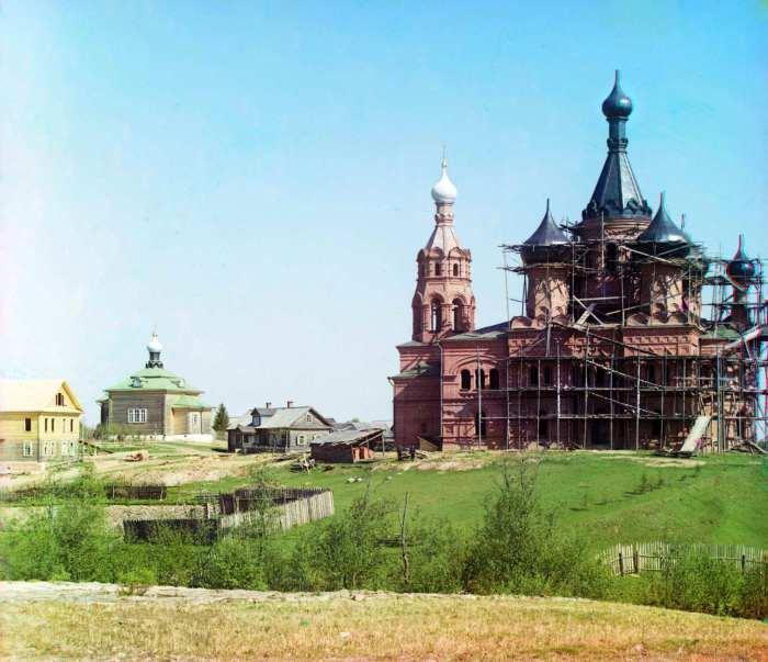 Реставрация Волговерховского женского монастыря.