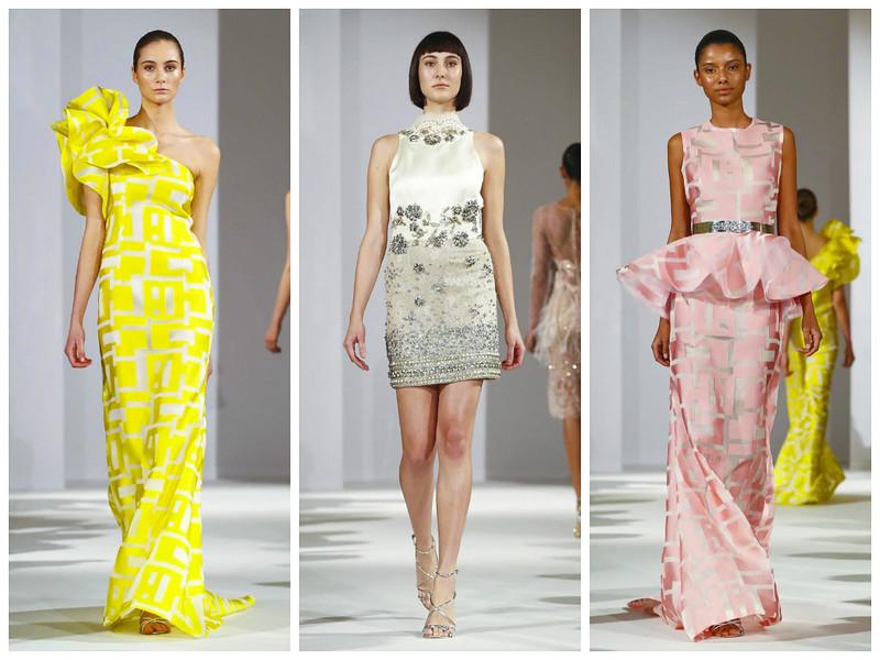 Вечерние платья в коллекции Celia Haute couture весна-лето 2017