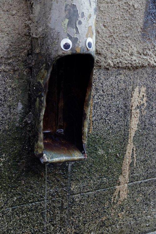 """Болгарский художник украшает город """"бегающими глазками"""""""