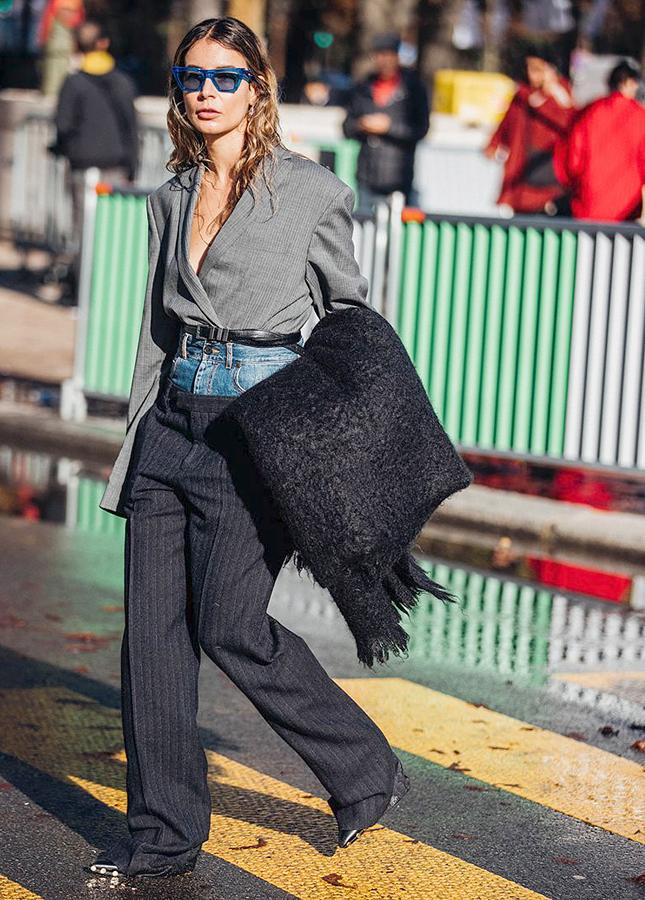 Зачем заправлять пиджак в брюки