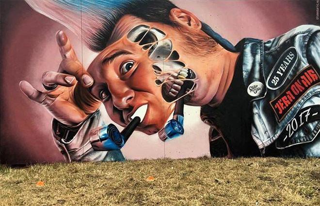 Studio Giftig (Голландия) в мире, граффити, интересное, искусство, подборка, стрит-арт, уличное искусство