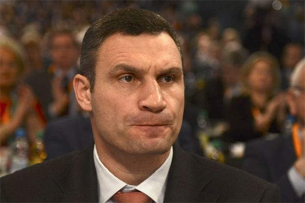 Кличко продемонстрировал незнание географии на форуме в Давосе
