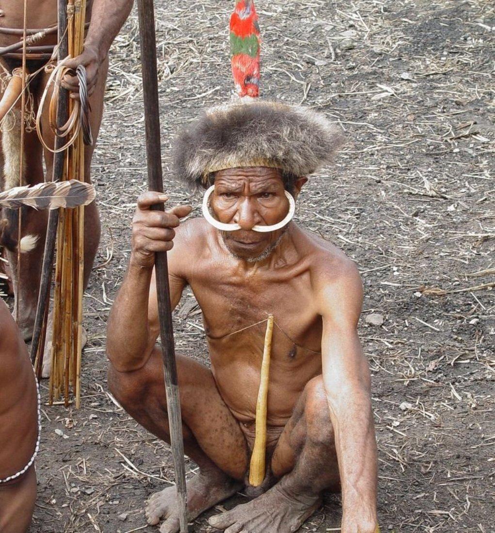 Порно в племенах бушменов