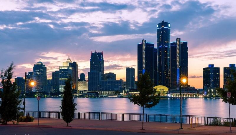 Детройт, штат Мичиган, США город, длиннопост, подборка, природа