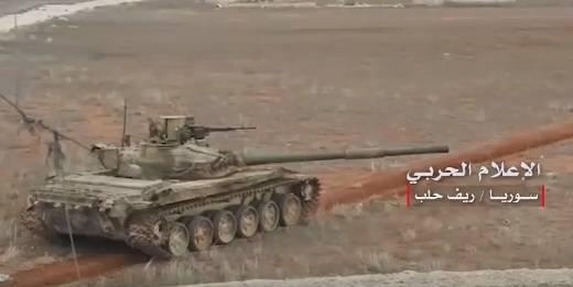 Сирийские танки с «электронной защитой» от TOW воюют в Алеппо
