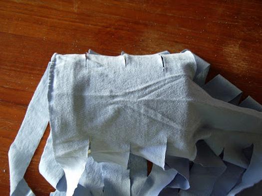 Как из трикотажной футболки сделать пряжу из