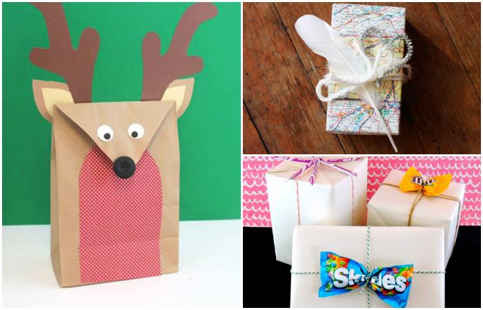 Во что упаковать подарок если нет упаковочной бумаги