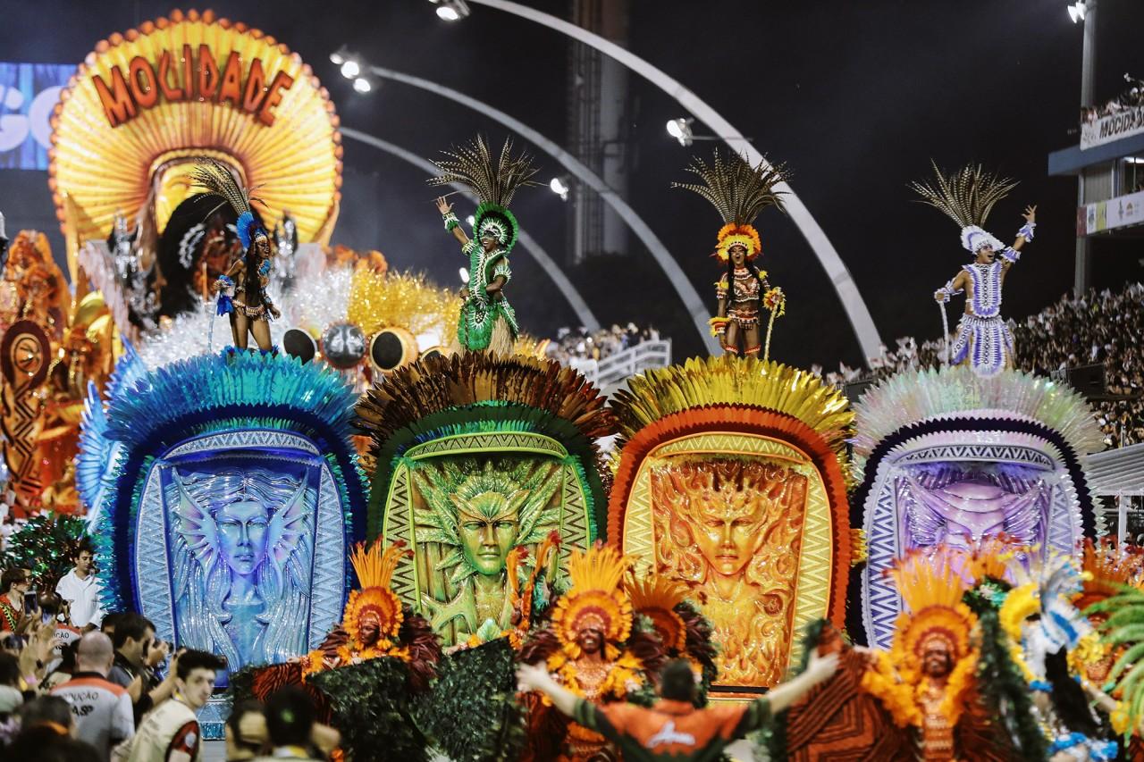 Карнавал в Рио 2019