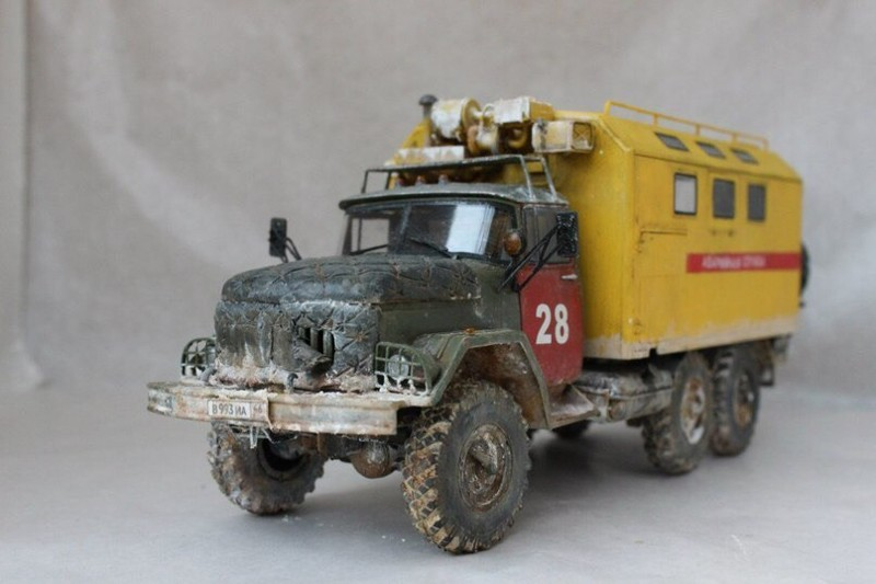 ЗиЛ-131 Автомоделизм