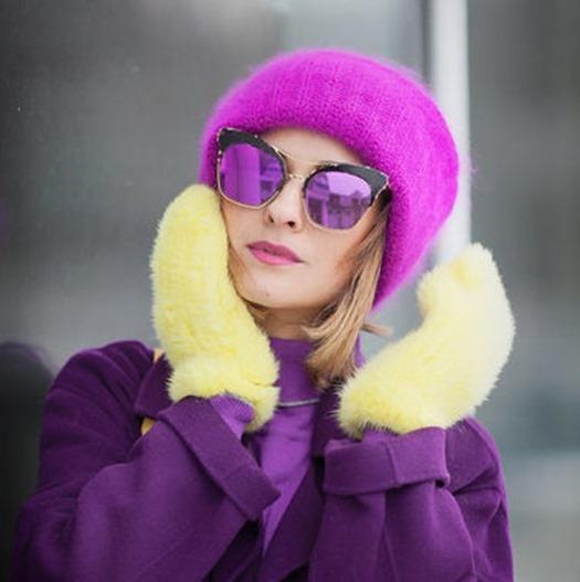 Холодный сезон 2016- 2017 богат на оригинальные идеи — Шапка-шик!