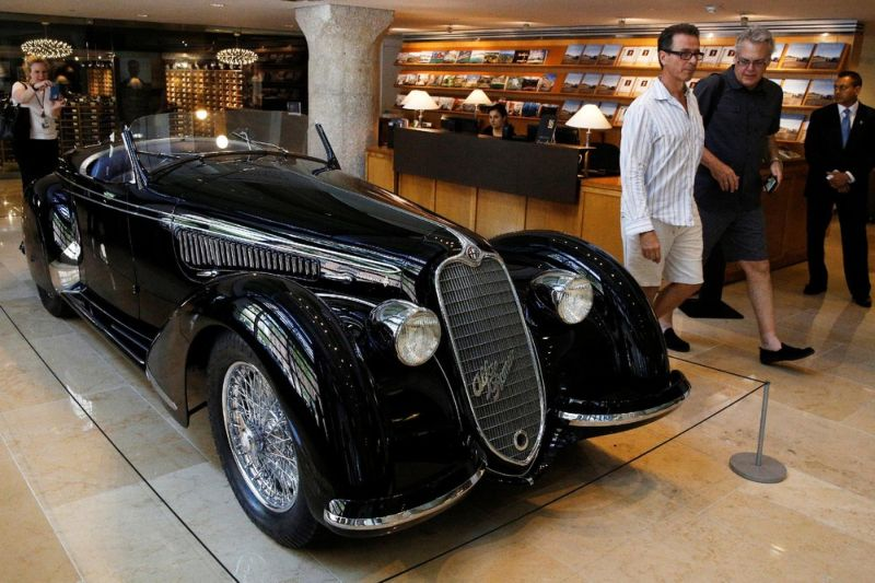 Стоимость редчайшего Alfa Romeo зашкалила за 15 миллионов долларов