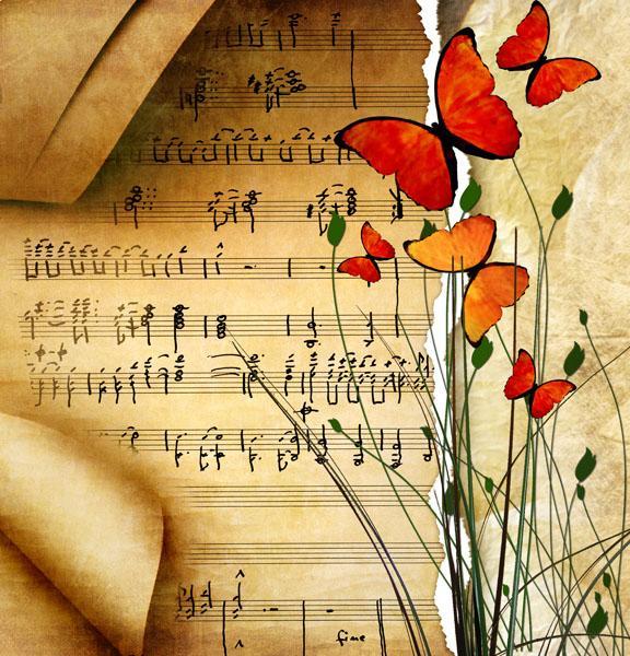 Открытка с моей музыкой