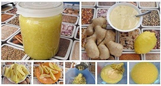 Имбирь с лимоном и мёдом (Ре…