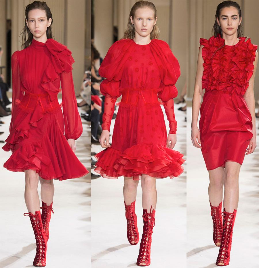 Красные платья «и в пир, и в мир»