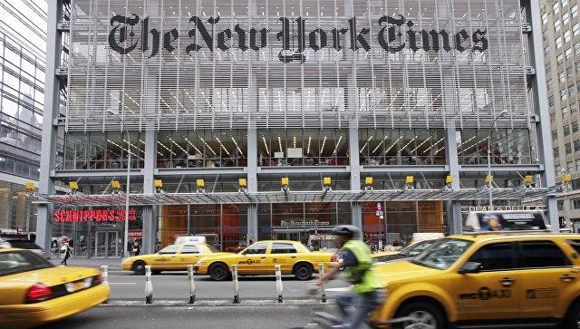 """Сообщение в твиттере NYT: """"Москва приняла решение о ракетном ударе по США"""""""