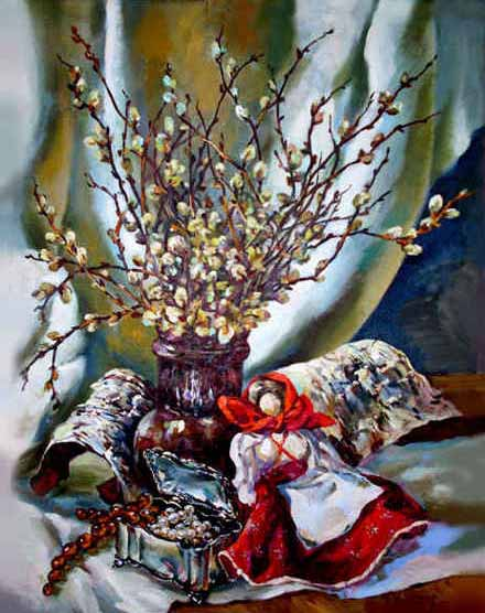 Русский славянский праздник Вербохлёст