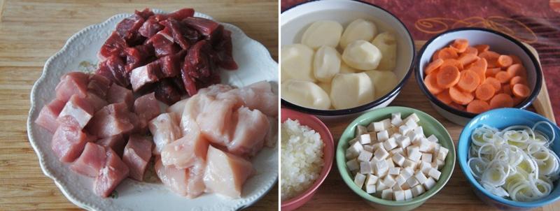простой суп с мясом в мультиварке