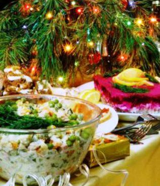 Забирай себе, чтобы не потерять --10 самых вкусных салатов для новогоднего стола