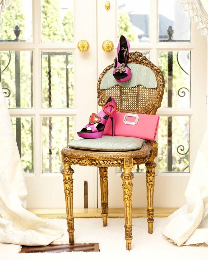 Оригинальные полочки для обуви