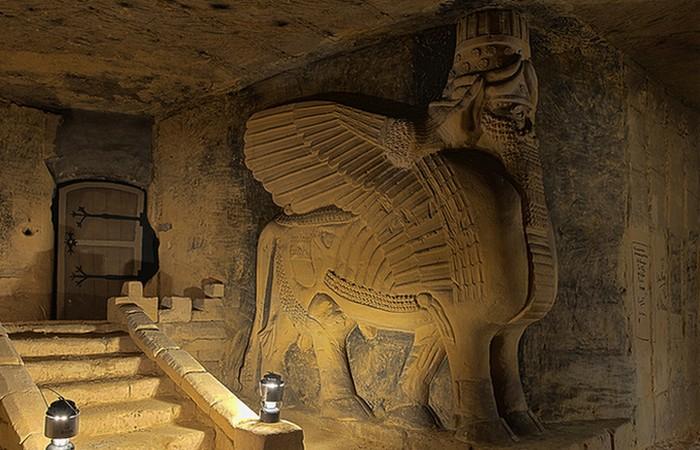 Подземные пещеры иезуитов в Европе, заполненные египетским и исламским искусством