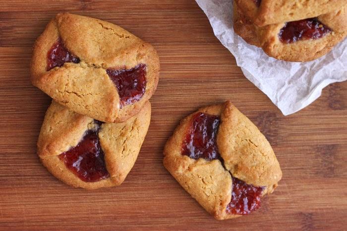 Вкусненькое Печенье с повидлом.