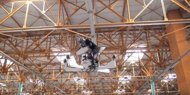 Прототип летающего мотоцикла Scorpion-3