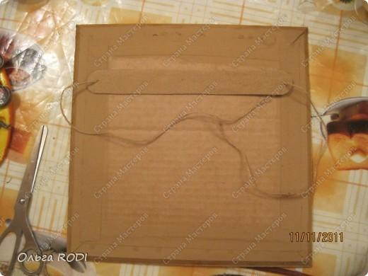 Рамочка из потолочного плинтуса. 12364