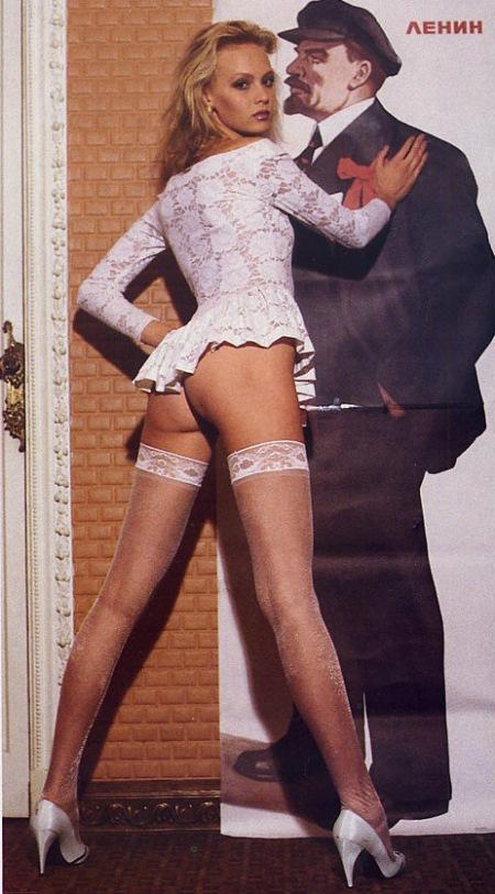 Из России с любовью — 10 раритетных снимков из журнала Playboy за 1990 год