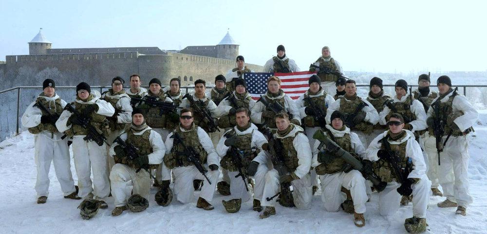 Военные США в Нарве