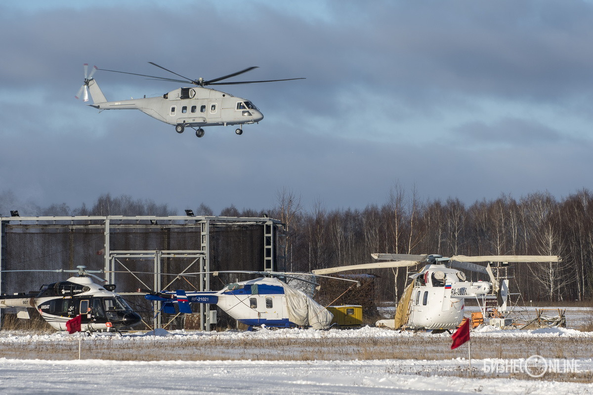 Делегация Минобороны РФ посетила Казанский вертолетный завод