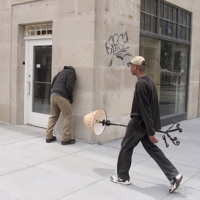 Странные городские скульптуры Марка Дженкинса