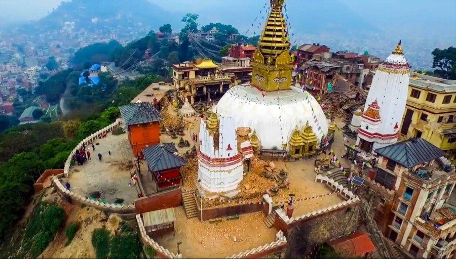 Сваямбунатх, непал