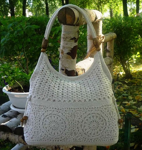 красивые вязаные сумки - Все о моде